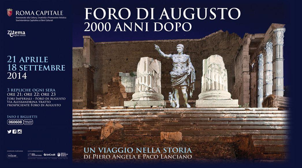 Il foro di augusto capware for Augusto roma